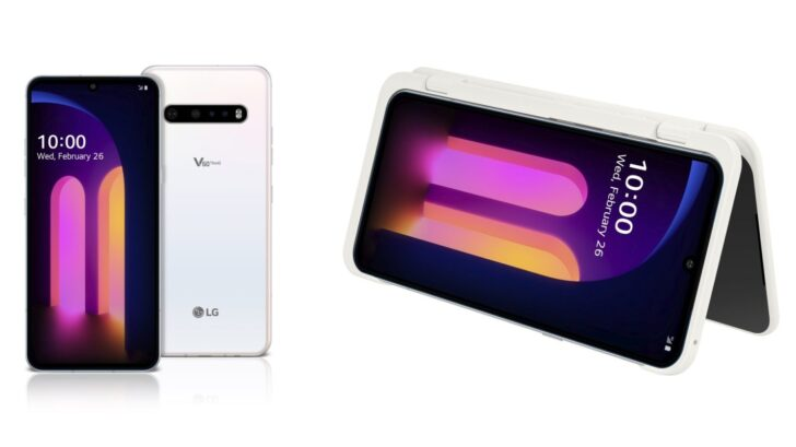 Review Smartphone LG V60 ThinQ